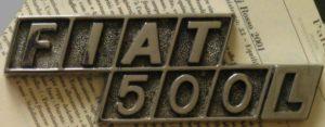 クロモドラ FIAT500L エンブレム