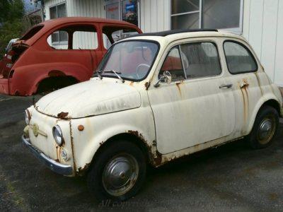 旧車 フィアット500 サビ対策