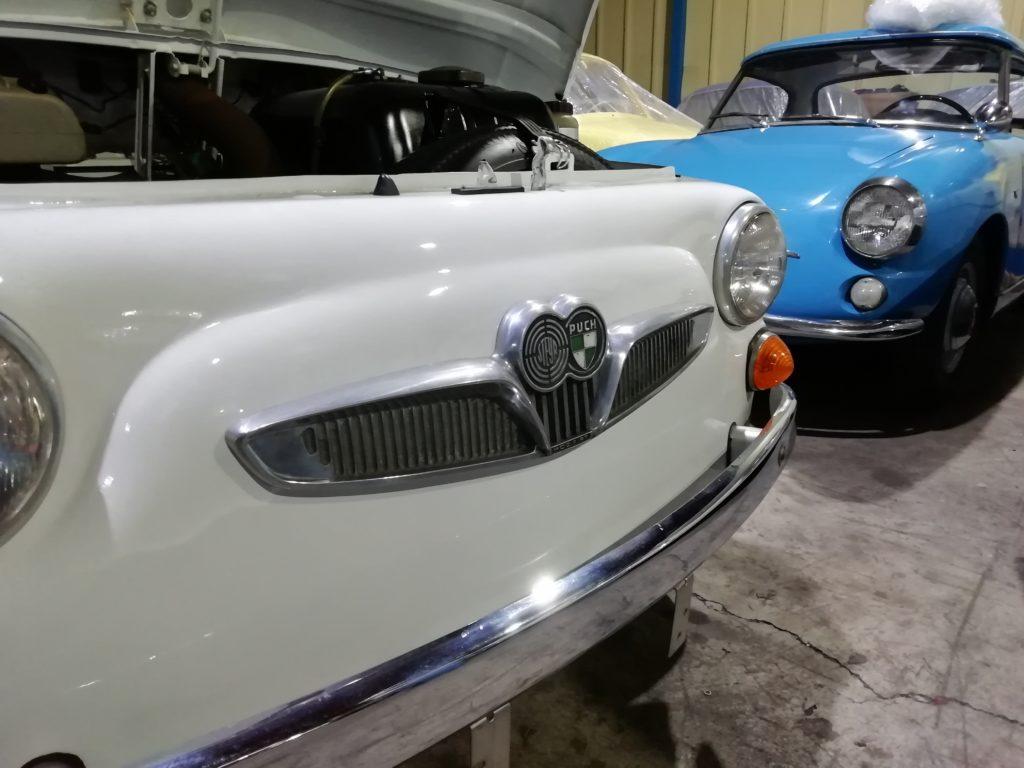シュタイアー・プフ FIAT500 オーストリア