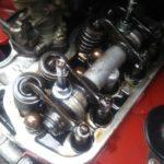 FIAT500(旧チンクエチェント)タペット調整 バルブクリアランス