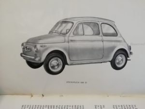 Steyr Puch Fiat 500 epoca シュタイア・プフ フィアット チンクエチェント