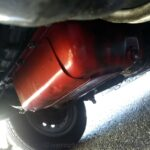 旧チンクエチェントのオイル交換&ジャッキアップ!フィアット500はエンジンオイル管理が大事!