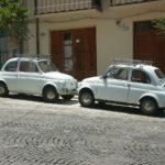 旧チンクのバーチョ♪愛すべきオールド・フィアット500のいるイタリアの街並み