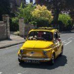 黄色いチンクエチェントと言えばルパン三世!フィアットほどイエローの似合う車はない!?